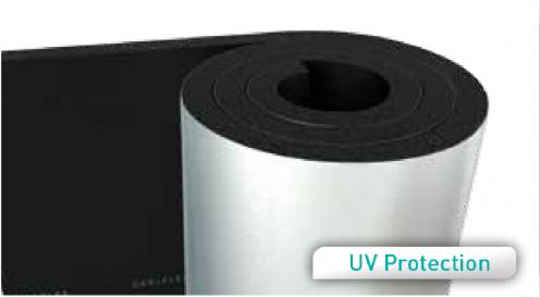 Aluminium Foil Faced Flexible Elastomeric Foam Rolls