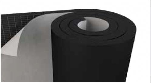 Self-Adhesive Flexible Elastomeric Foam Insulation Rolls